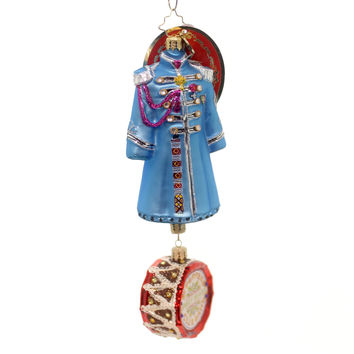 Christopher Radko Paul Mccartney's Sgt Pepper's Coat Glass Ornament