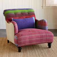 ONE-OF-A-KIND BALARAJ SARI ARMCHAIR         -                One of a Kind         -                Furniture & Decor                       | Robert Redford's Sundance Catalog