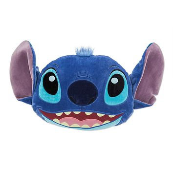 Disney Stitch Face Plush Pillow Plush New with Tags