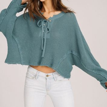 Rory Sweater - Teal