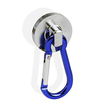 Atomic SUPER-Strong Neodymium Magnet Holds 35 Lbs Carabiner Snap Hook