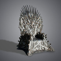 Game of Thrones Replica Iron Throne at Firebox.com