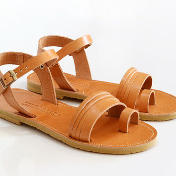 KORI ,Sandals , Leather sandals women, Handmade greek sandals