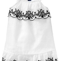 Embroidered Sundresses for Baby