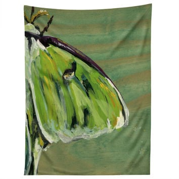 Land Of Lulu Luna Moth Tapestry