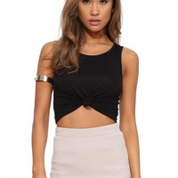 Knotted Crop Top