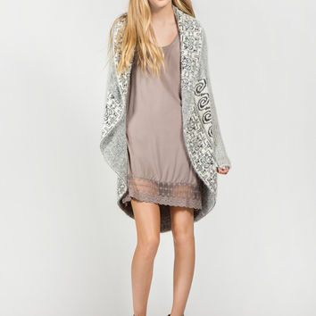 Apparel- Betsy Hairy Cocoon Sweater