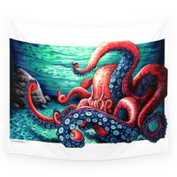 Society6 Octopus Wall Tapestry