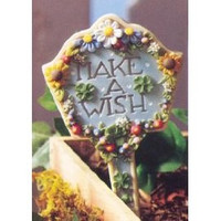 Make a Wish Garden Marker-Mary Engelbreit