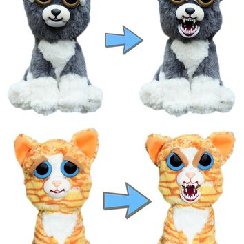 "Feisty Pets Sammy Suckerpunch & Princess Pottymouth 8"" Plush Set"
