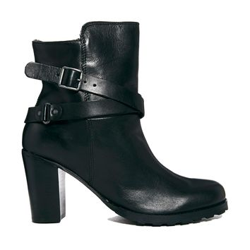 Carvela Leather Tamera Buckle Ankle Boots
