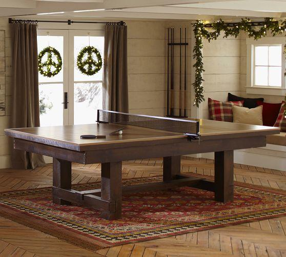 Pottery Barn Ping Pong Table Top: TABLE TENNIS COVER FOR POOL TABLE From Pottery Barn