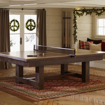 Table Tennis Cover For Pool Table From Pottery Barn