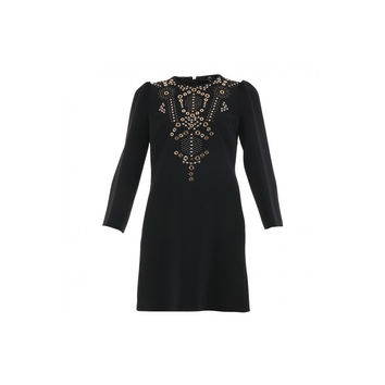 Elisabetta Franchi Mini Dress With Stud Application (Women's)