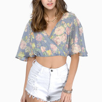 Perfect Arrangement Crop Top