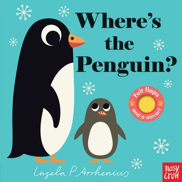 Where's the Penguin? Board book – September 11, 2018