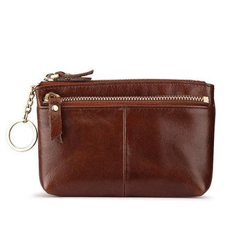 Women's Wallets Vintage Genuine Leather cowhide Real Leather