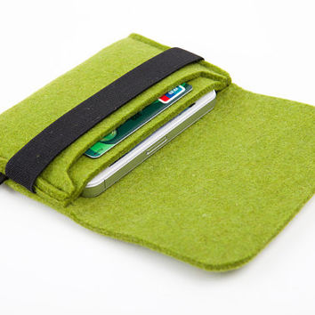 Suoran IPhone 5 Case Sleeve Bag Cover Wool Felt Sleeve For IPhone 5