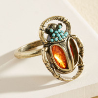 All Things Being Beetle Ring | Mod Retro Vintage Rings | ModCloth.com