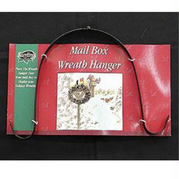 "Over-the-mail Box Double Wreath Hanger - 10 ""  - Double Hanger"