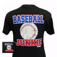 Girlie Girl Originals Baseball Junkie Pitch Bright T Shirt