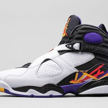 PEAPO2N Air Jordan Retro 8 VIII '3-peat'