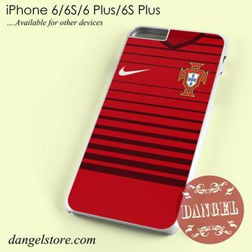 Portugal Soccer Jersey Phone case for iPhone 6/6s/6 Plus/6S plus