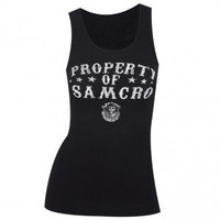 Sons of Anarchy Property of SAMCRO Junior Fit Tank