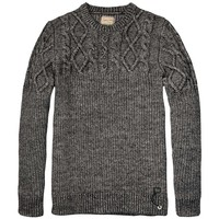 Structured Knitted Rocker Pull - Scotch & Soda