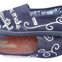 The Gungor - Black and White Custom TOMS
