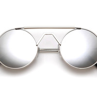 60's Collection Round Aviator/Hippie Style Sunglasses 8366