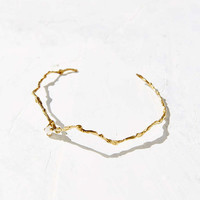 HLSK Fasolt Rainbow Moonstone Choker Necklace - Urban Outfitters