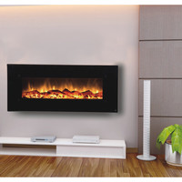 "Touchstone Onyx Touchstone 50"" Electric Wall Mounted Fireplace"