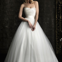 Trendy A-Line/Princess Sweep Train Backless Non Traditional Wedding Dress [WD-360] - AUD $224.90 :