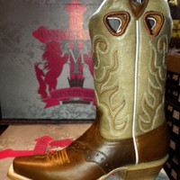 Brown Leather Cowboy Boot