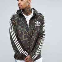 adidas Originals Zip Hoodie In Camo BJ9997 at asos.com