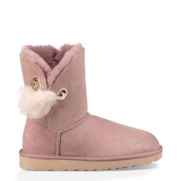 Best Sale Online Fasshion UGG Pink Limited Edition Classics Boots IRINA Women Shoes 1017502