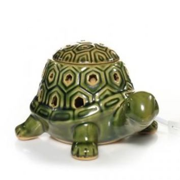 Everyday Ceramic Green Box Turtle W/LED : Electric Wax Melts Warmer - Lights Up : Yankee Candle