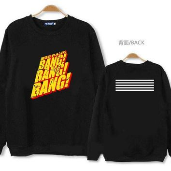 New K-pop Bigbang Made Hoodie Long-sleeved Sweatshirt Clothes Big Bang Round Neck Coat Kpop
