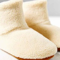 Cozie Slipper Boot- Ivory