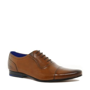 Ted Baker Rogrr Toe-Cap Shoes - tanleather