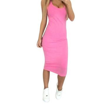 Tight Stretch Fitted Dress