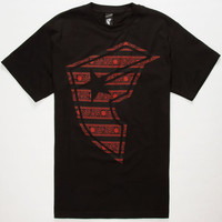 Famous Stars & Straps Bars Bolt Mens T-Shirt Black  In Sizes