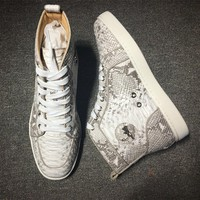 Cl Christian Louboutin Style #2254 Sneakers Fashion Shoes