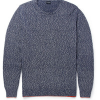 PS by Paul Smith - Flecked Knitted Cotton Boucle Sweater | MR PORTER
