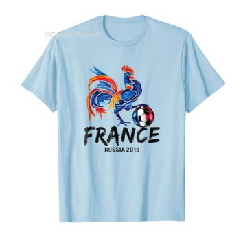 High quality Soccer France Team Flag World Jersey Football Cup 2018 Shirt