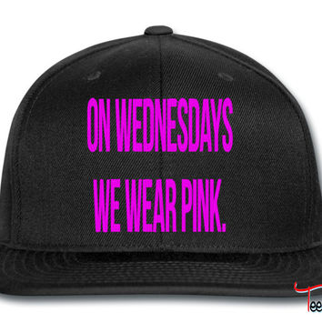 on wednesdays we wear pink_pink snapback