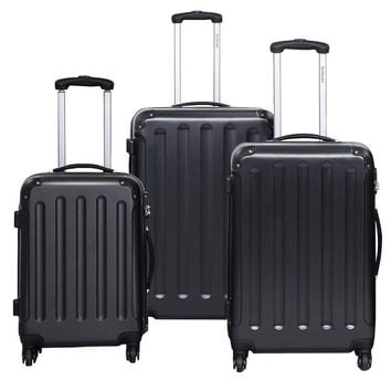 Luggage Set Travel Trolley Suitcase With Durable Multi-directional Wheels ABS Hard Shell Carry-On Luggage Maletas