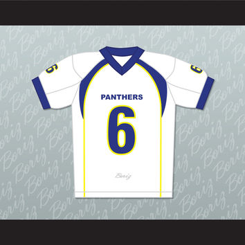 Friday Night Lights Jason Street 6 Dillon High School Panthers Football Jersey