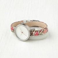 Free People Petal Print Wrap Watch